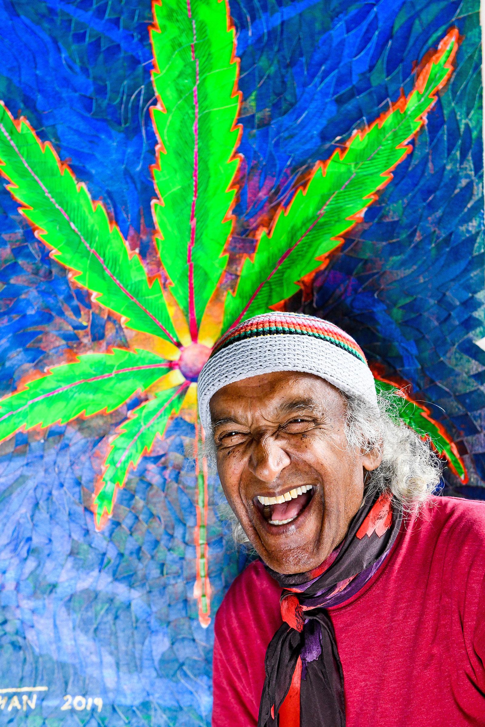 The Cannabis Artist Mohan Sundaresan