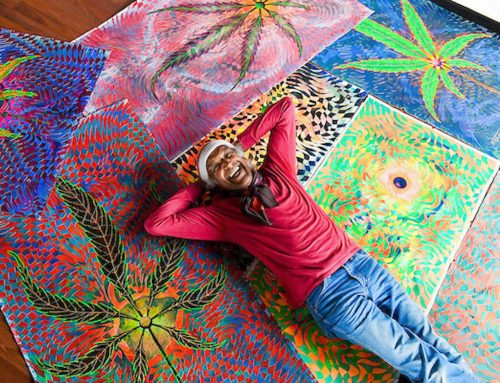 THE CANNABIS ARTIST