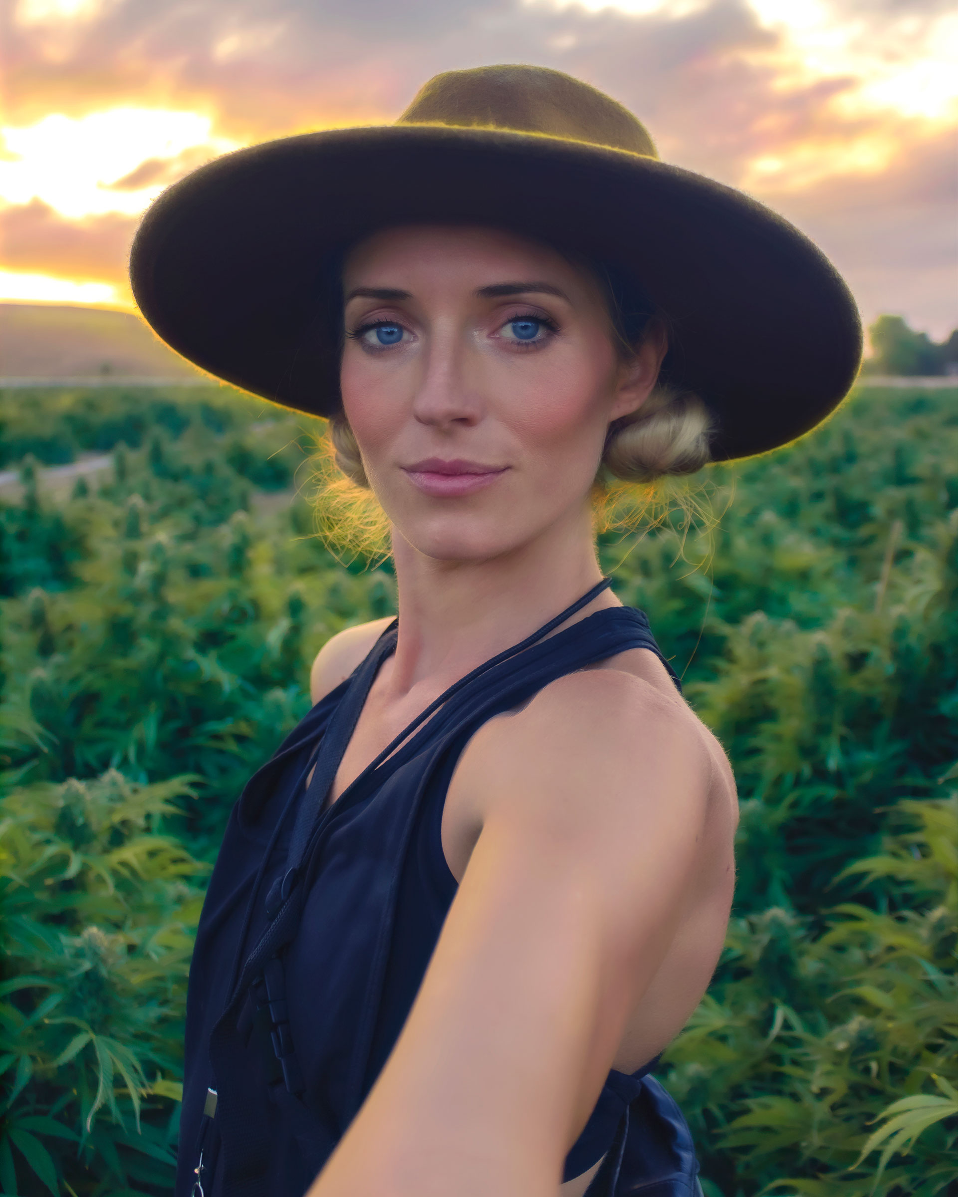 Asia Taber: Künstlerin und Art Director bei den 3c Farms