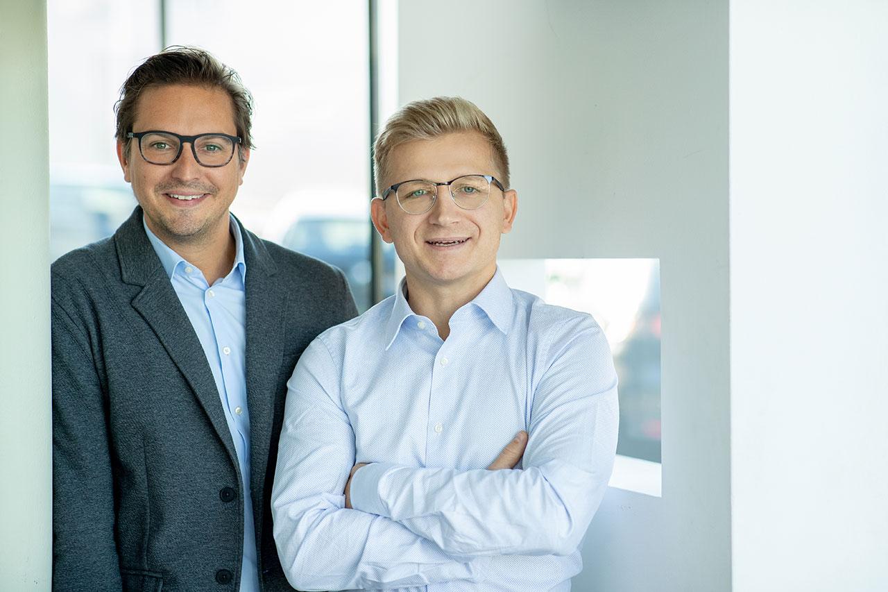 Jeder Mensch hat es verdient, selbstbestimmt den besten Zustand seiner Gesundheit zu erreichen. Das ist die Philosophie der beiden Geschäftsführer Mag. M. Schöggl (links) und Thomas Sulzer.